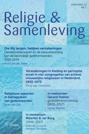 religie&samenleving, 2018, jaargang 13. no. 2